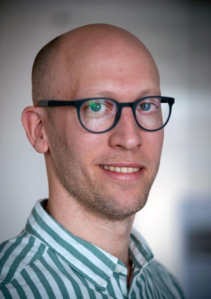 Linus Österholm porträtt