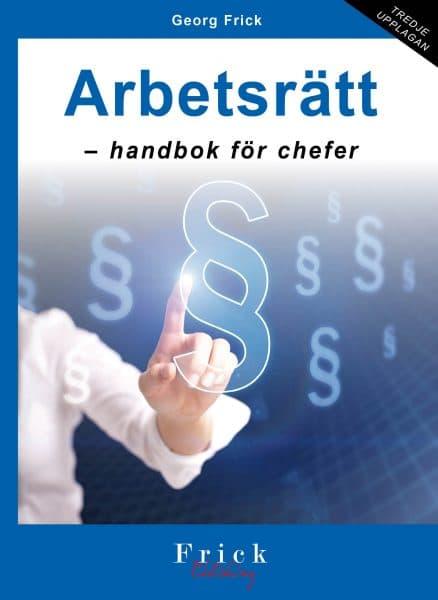 Arbetsrätt - handbok för chefer bok
