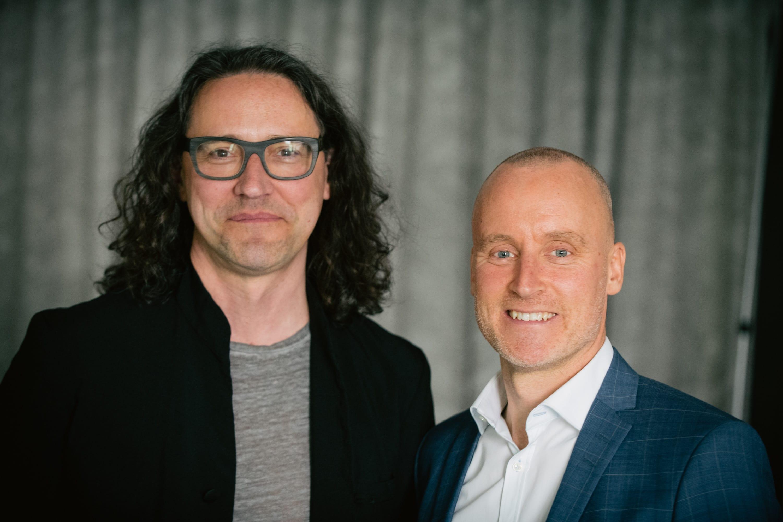Lars Larsson och Magnus Hedberg